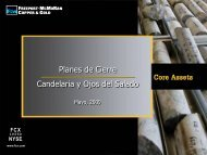 Plan de Cierre Candelaria - IIMCh