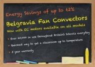 Belgravia Fan Convectors - S & P Coil Products Limited