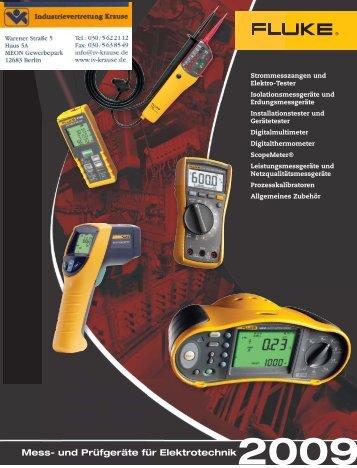 Elektro-Tester - Industrievertretung R. Krause GmbH