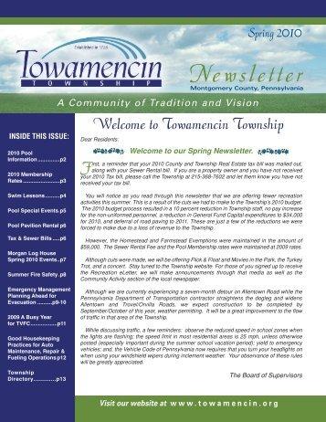 Newsletter - Towamencin Township