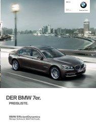 Preisliste (PDF - 1,4 MB) - BMW Deutschland