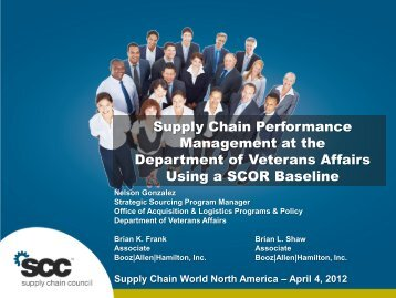 Gardner - Supply Chain Performance Management at the ...