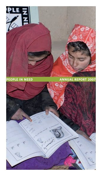 PEOPLE IN NEED ANNUAL REPORT 2007