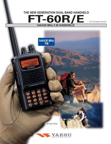 Download Brochure - Yaesu.com.hk