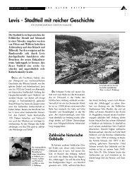 Levis - Stadtteil mit reicher Geschichte - in Feldkirch