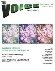 The Voice - December 1, 2004 - The Voice Magazine