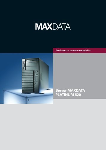 Server MAXDATA PLATINUM 520