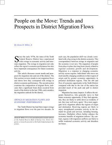 People on the Move: Trends and Prospects in District Migration Flows