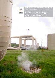 2011 Annual Report & Financial Statements - Kengen