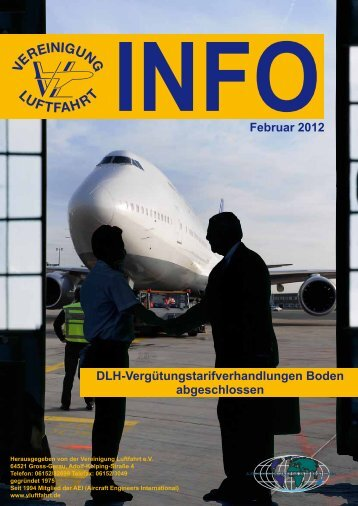 INFOFebruar 2012 DLH-Vergütungstarifverhandlungen Boden ...
