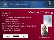 Module B Training