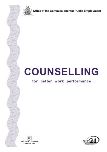 COUNSELLING - Office of the Commissioner for Public Employment