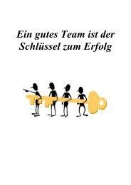 Ein gutes Team ist der Schlüssel zum Erfolg