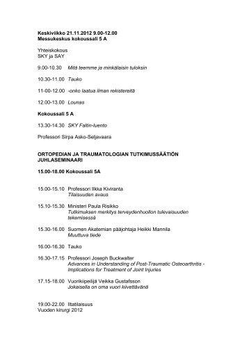 Liite 2 - Suomen Ortopediyhdistys