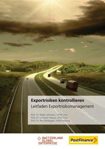 Leitfaden Exportrisikomanagement - Switzerland Global Enterprise