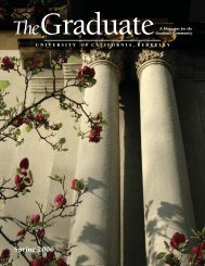The Graduate Magazine, Spring 2006 - UC Berkeley Graduate ...