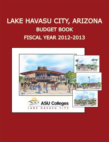Budget Book 2013 - Lake Havasu City