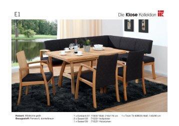 DKK-Milieus Eckbänke (PDF | 8.4MB) - Die Klose Kollektion