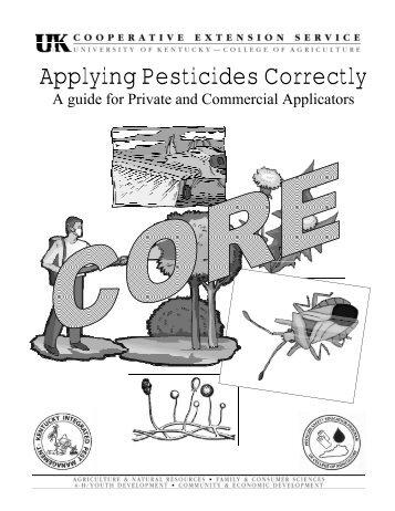 Applying Pesticides Correctly - University of Kentucky