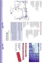 Flyer zum Download - VAF - Bundesverband Telekommunikation eV