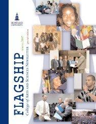 The Flagship Newsletter Spring 2007 - COAS - Howard University