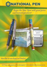 NATIONAL PEN - Promotional Products