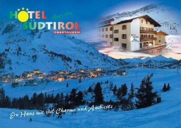 Hausprospekt - Hotel Südtirol