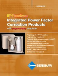 IPFusion Power Factor Correction Products ... - Royal Hydraulics