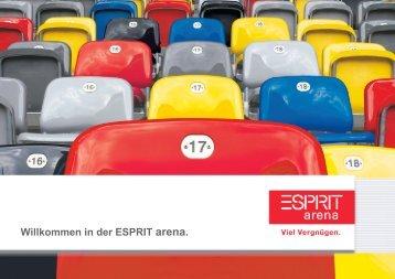Willkommen in der ESPRIT arena