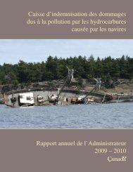 Caisse d'indemnisation des dommages dus à la pollution par les ...