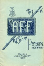 HILATELY~~E - International Philippine Philatelic Society