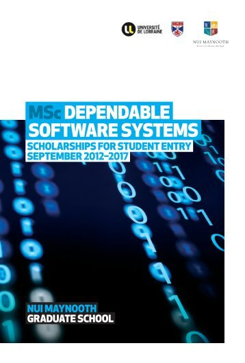 MScDepenDable Software SySteMS - Computer Science - National ...