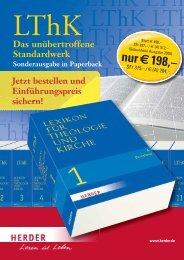 nur € 198,– - Verlag Herder