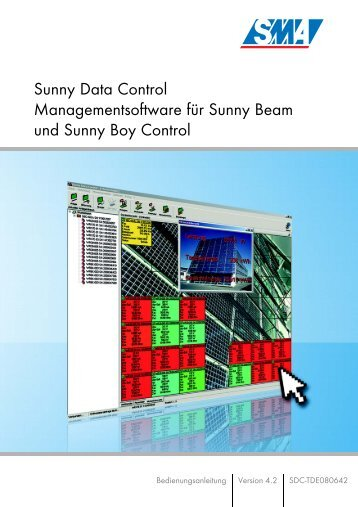 Sunny Data Control - SMA Solar Technology AG