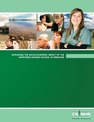 exploring the socio-economic impact of the northern ontario school ...