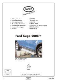 Ford Kuga 2008 - Cobra-SOR