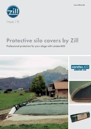 Protective silo covers by Zill - Zill GmbH & Co. KG