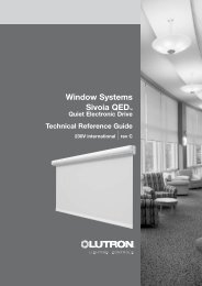 Technical Reference Guide - Lutron