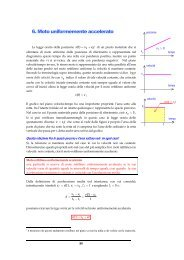 6. Moto uniformemente accelerato - francescopoli.net