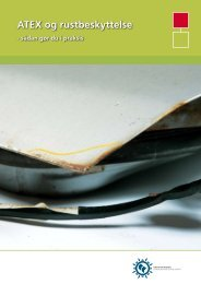 ATEX og rustbeskyttelse - Industriens Branchearbejdsmiljøråd