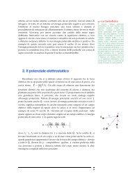 2. Il potenziale elettrostatico - francescopoli.net