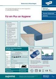 Für ein Plus an Hygiene - Suprima GmbH