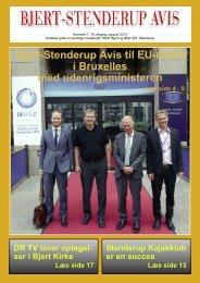Bjert-Stendererup avis august 2013 - Sdr. Stenderup