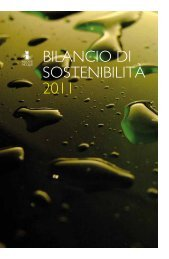Bilancio di Sostenibilità 2011 - Nuove Acque