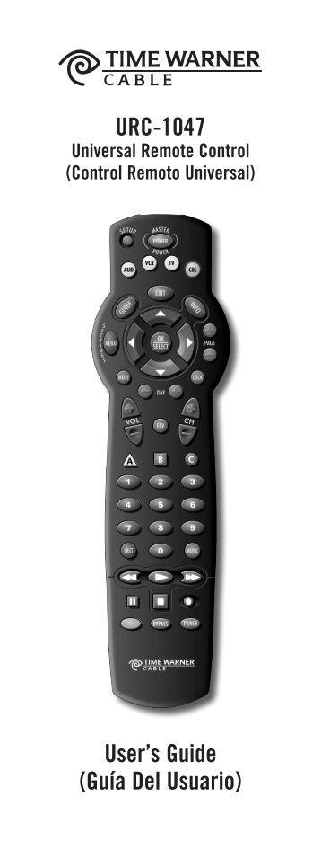 Twc Remote Control User Guide