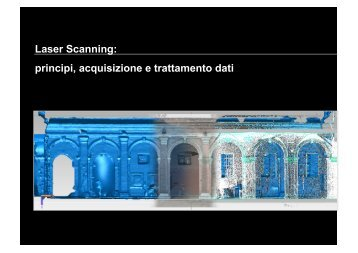il rilievo laser scanner - Circe