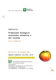 Il Programma - Sistema d'informazione nazionale sull'agricoltura ...