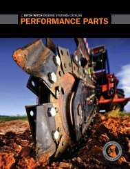 performance partS - Ditch Witch