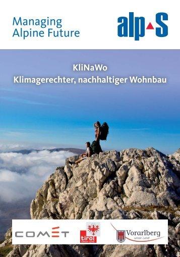 Managing Alpine Future - alpS