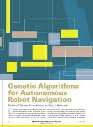 Genetic Algorithms for Autonomous Robot Navigation - IEEE Xplore
